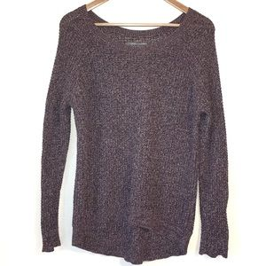 NWOT Oversized Purple Grunge Sweater Nordstrom